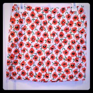 JCrew Poppy Skirt